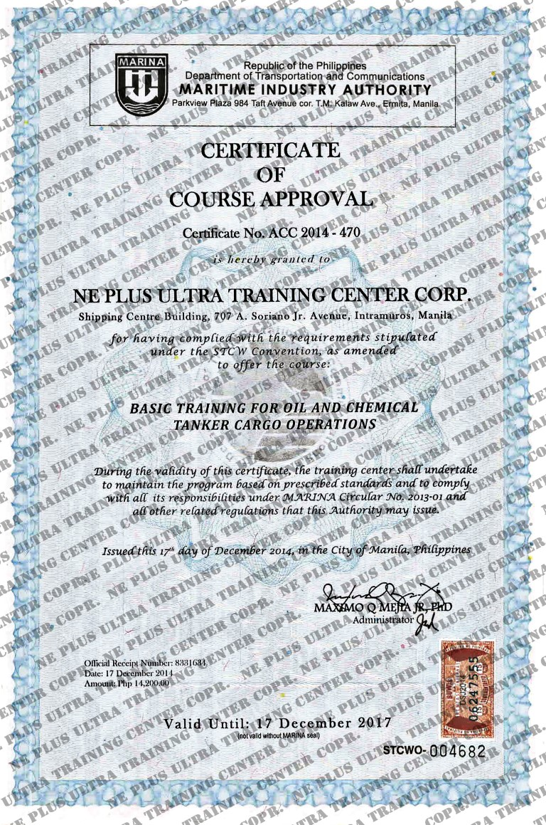 Ne plus ultra training center corp accreditations 1betcityfo Choice Image
